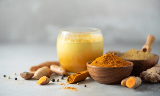 Złote mleko na poprawę odporności.